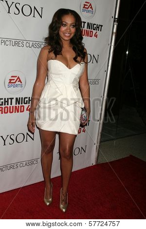 LaLa Vasquez at the Los Angeles Premiere of 'Tyson'. Pacific Design Center, West Hollywood, CA. 04-16-09