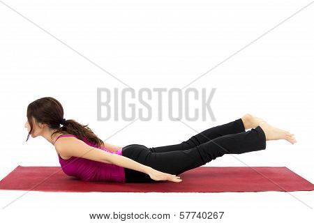 Locust Pose In Yoga
