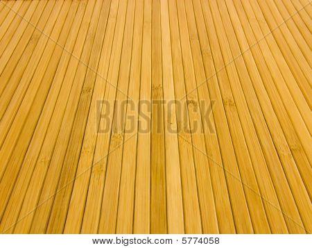 Texture of bamboo mats
