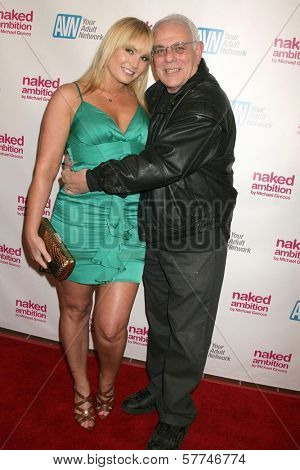 Cousin Stevie and Flower Tucci  at the Los Angeles Premiere of 'Naked Ambition an R-Rated Look at an X-Rated Industry'. Laemmle Sunset 5 Cinemas, West Hollywood, CA. 04-30-09