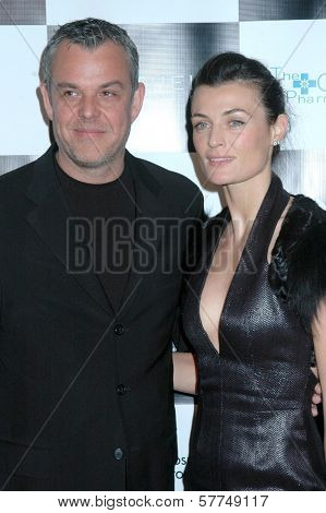 Danny Huston and Lyne Renee at the Britweek Designer of the Year Fashion Show and Awards presented by Genlux Magazine. Pacific Design Center, West Hollywood, CA. 05-02-09