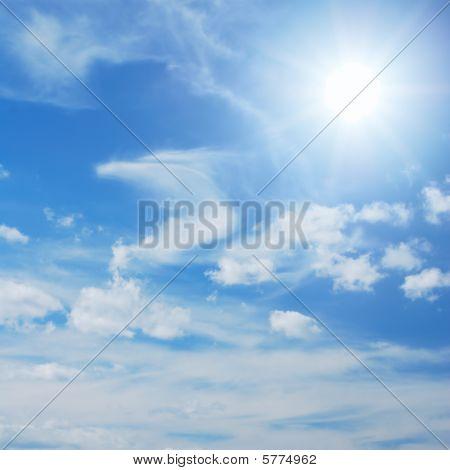 Skyscape With Sun