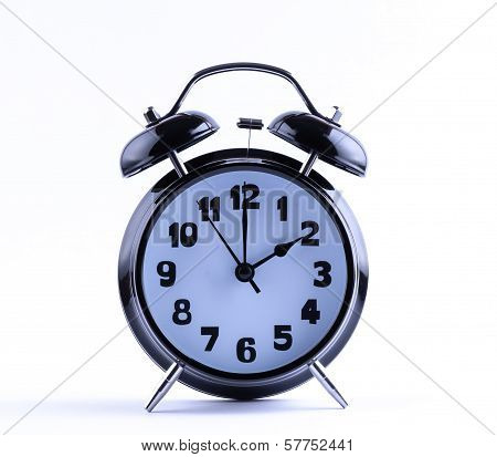 Alarm Clock  With Two O'clock