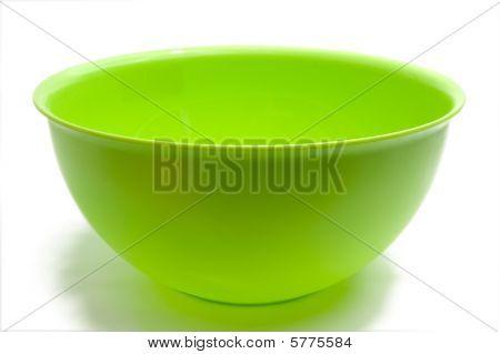 Round Green Bowl