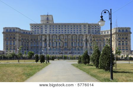 The Palace Of The Parliament,bucharest,romania