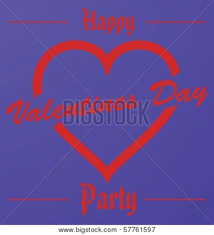 Happy Valentines Day Party
