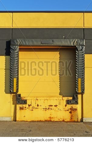 Yellow Loading Dock