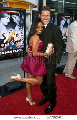 Essence Atkins and Ross Thomas at the Los Angeles Premiere of 'Dance Flick'. Arclight Hollywood, Hollywood, CA. 05-20-09