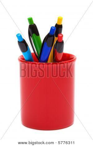 Color Ballpoint Pens