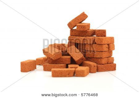 Big Pile Of Bricks