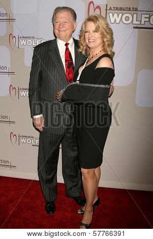 Burt Sugarman and Mary Hart  at the Heart Foundation gala honoring Wolfgang Puck. The Beverly Wilshire Hotel, Beverly Hills, CA. 05-30-09