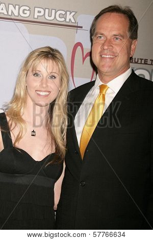 Suzie Kokenda and Tom Zenty  at the Heart Foundation gala honoring Wolfgang Puck. The Beverly Wilshire Hotel, Beverly Hills, CA. 05-30-09