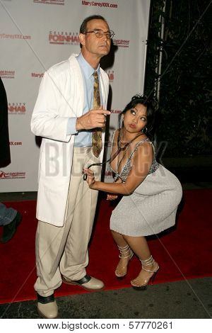 Mike Horner and Mika Tan at the 'Celebrity Pornhab with Dr. Screw' Premiere Party. Les Deux, Hollywood, CA. 06-01-09