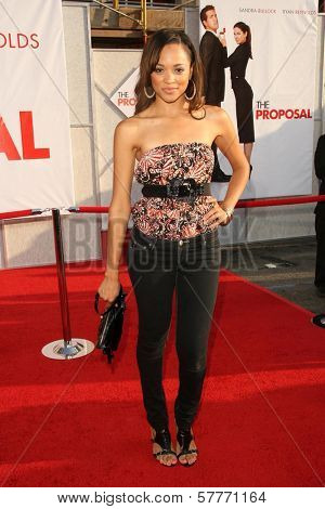 Saleisha Stowers at the Los Angeles Premiere of 'The Proposal'. El Capitan Theatre, Hollywood, CA. 06-01-09