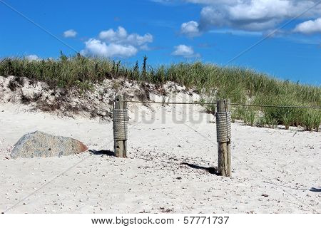 two pier posts
