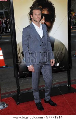 Bradley Cooper at the Los Angeles Premiere of 'The Hangover'. Grauman's Chinese Theatre, Hollywood, CA. 06-02-09