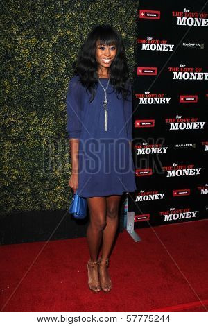 Brittney 'ShaRaun' Brown at the World Premiere of