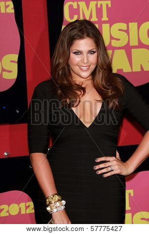 Hillary Scott at the 2012 CMT Music Awards, Bridgestone Arena, Nashville, TN 06-06-12