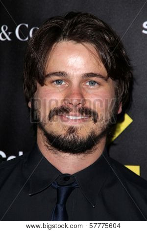 Jason Ritter at the Sundance Institute Benefit Presented by Tiffany & Co., Soho House, Los Angeles, CA 06-06-12