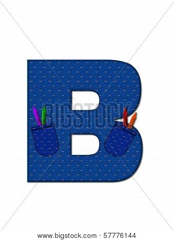 Alphabet Scool Days B