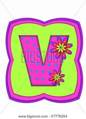 Alphabet Daisy Daze V
