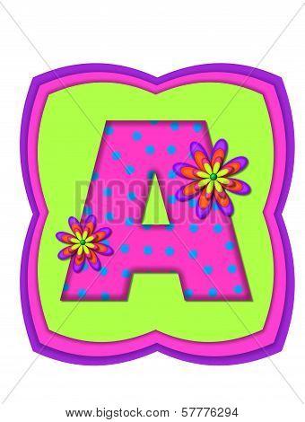 Alphabet Daisy Daze A