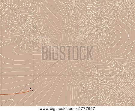 Mountain contours