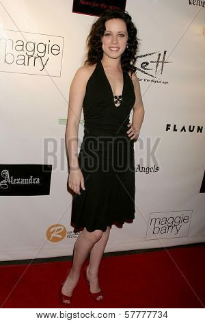 Laura Marie Steigers at a special red carpet event for New Universal Records artist 'Alexandra'. Ivar, Hollywood, CA. 03-31-09