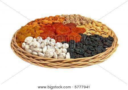 Raisin, Almonds, Dried Apricots, Peanut