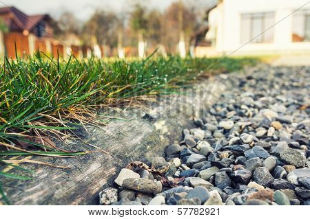 Grass Separated From Aggregate