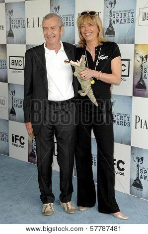 Michel Lacoste  at the 2009 Film Independent's Spirit Awards. Santa Monica Pier, Santa Monica, CA. 02-21-09
