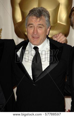Robert De Niro in the Press Room at the 81st Annual Academy Awards. Kodak Theatre, Hollywood, CA. 02-22-09