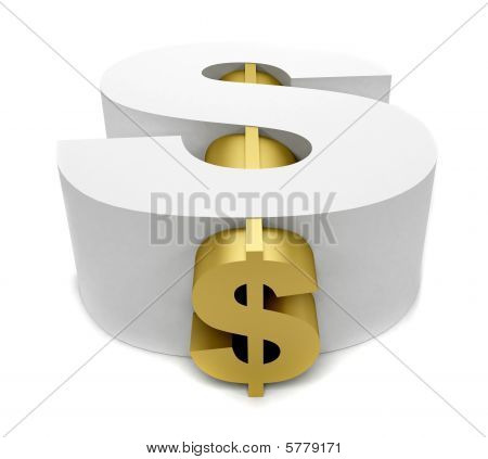 Big Dollar Symbol