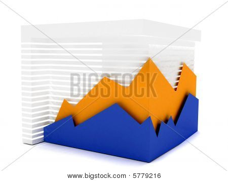Business Graphic Isolated
