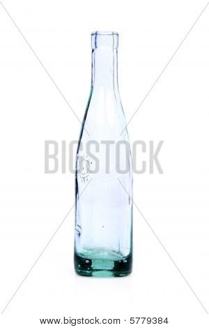 Old glass bottle.