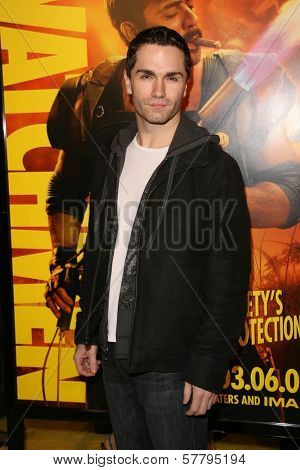 Sam Witwer at the U.S. Premiere of 'Watchmen'. Grauman's Chinese Theatre, Hollywood, CA. 03-02-09
