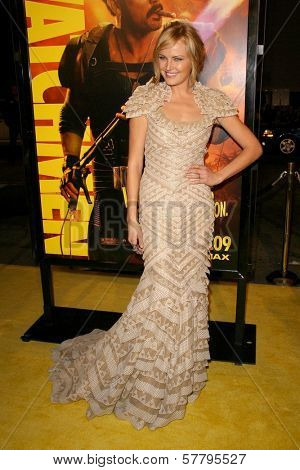 Malin Akerman at the U.S. Premiere of 'Watchmen'. Grauman's Chinese Theatre, Hollywood, CA. 03-02-09