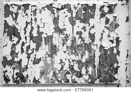 Black-and-white Tone Of Abstract Texture