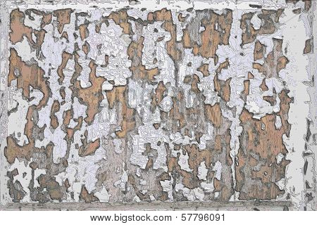 Abstract Background With Texture Of Contours