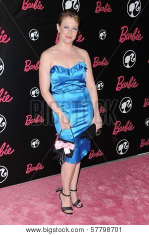 Melissa Joan Hart at Barbie's 50th Birthday Party. Barbie's Real-Life Malibu Dream House, Malibu, CA. 03-09-09
