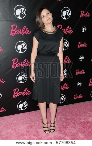 Ginnifer Goodwin  at Barbie's 50th Birthday Party. Barbie's Real-Life Malibu Dream House, Malibu, CA. 03-09-09