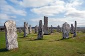 Standing Stones At Callanish, Scotland