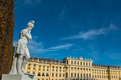 stock photo of schoenbrunn  - Vienna - JPG