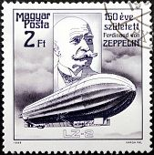 Zeppelin Stamp