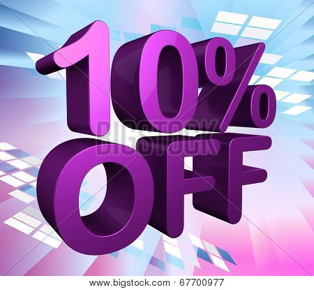 Ten Percent Off Shows Sale Discounts And Promotion