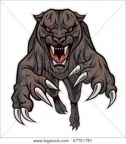 Jumping Panther