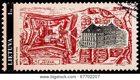 Lithuanian Post Stamp