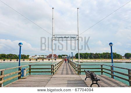 Zingst Pier