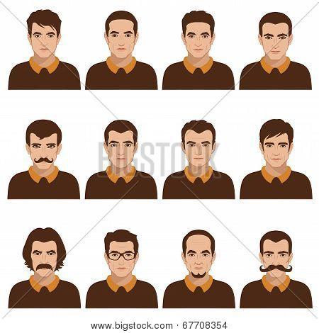 Man Faces