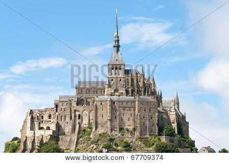 Mount St Michel In Normandy
